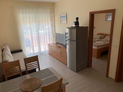 Négy fős apartman nappali Panorama Sutivan